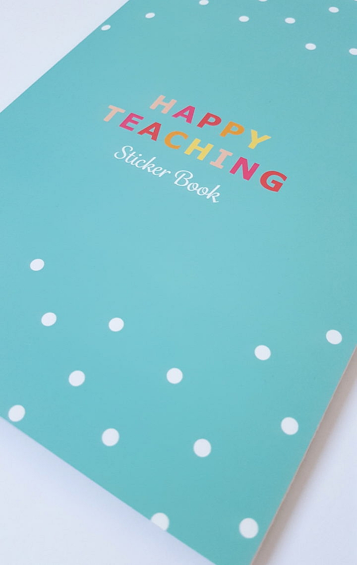 Stickerbook, Stickers, Stickerliebe, Happy Teaching-Kollektion