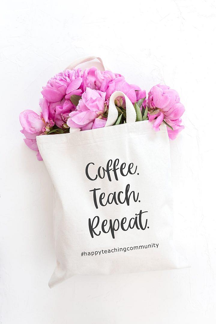 Lehrertasche, Happy Teaching-Tasche, Happy Teaching Community, Lehrergeschenke, Lehrershop, Lehrerleben, Teaching is a work of heart, Lehreralltag, Lehrer-Lifestyle