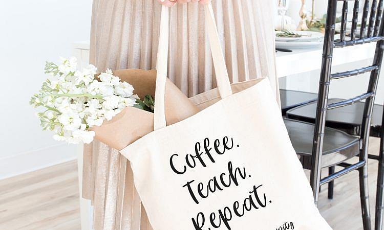 Lehrertasche, Lehrergeschenk, Lehreroutfit, Back to School, Lehrerleben, Lehrerlifestyle, Lehrermaterial, Happy Teaching-Kollektion