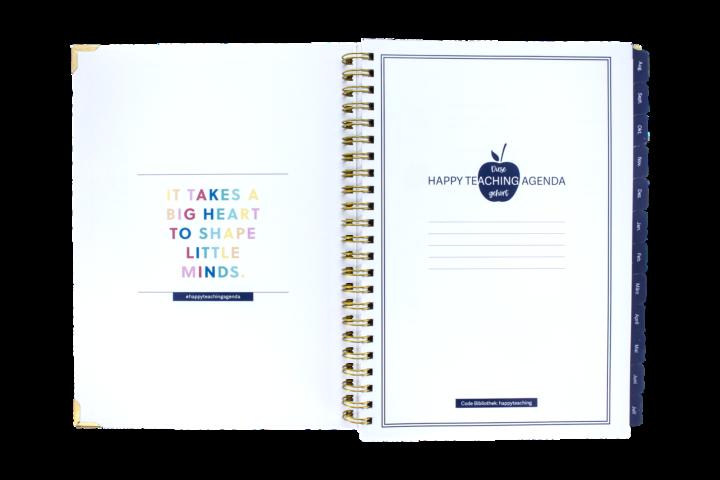 Lehrerkalender, Lehrerplaner, Unterrichtsplaner, Lehreragenda, Happy Teaching Agenda, Lehrermaterial, Unterrichtsmaterial, Lehrerleben, Unterrichtsvorbereitung