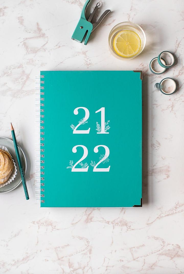 Lehreragenda 21/22, Happy Teaching-Agenda, Unterrichtsplaner, Unterrichtsmaterial, Lehrerkalender