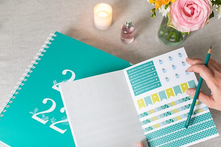 Stickerbook, Happy Teaching-Stickerbook, Aufkleber, Lehrermaterial, Lehrergeschenke